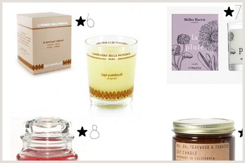 Wishlist Christmas scented candle ippi patchouli Carrement Belle