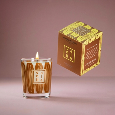Handmade gourmand scented candle