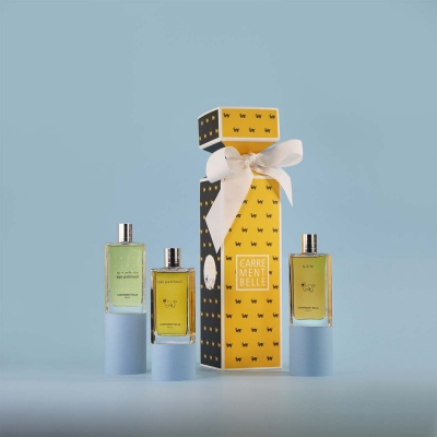 Perfume set of french patchouli fragrances