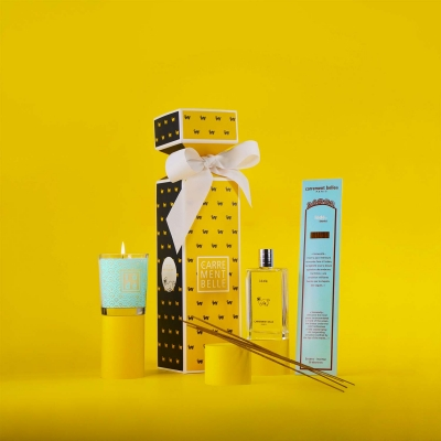 Body and home perfumes set