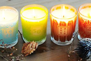 How to take care of a scented candle?