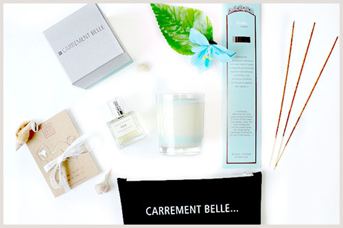Pamela from the trendy girl blog is soothed by the seas with our iode marine fragrance