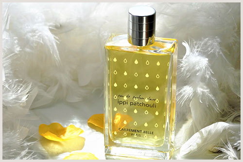 The blogger Angélina is testing our eau de parfum claire ippi patchouli