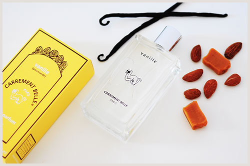 Greta from the blog il mio parfum has succumbed to the gourmand perfume of our sweet and spicy vanilla fragrance