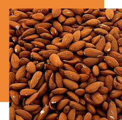 almond is a natural raw material that cannot be extracted in perfumery but its sweet and gourmand smell is reproduced thanks to the synthesis