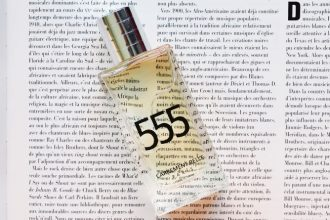 Stéphanie chose two perfumes for this fall: label rose and 555