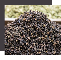Clove come from buds of the clove plant's flowers, it is generally used in oriental perfumes
