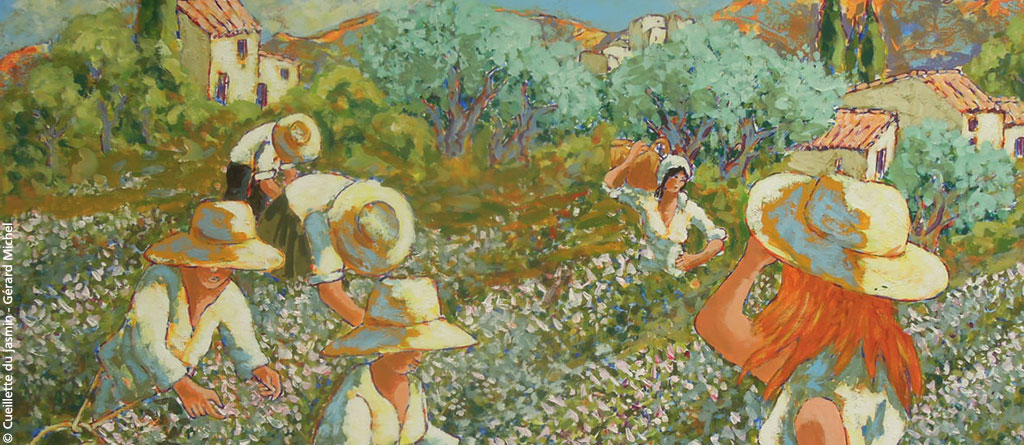 Grasse has become for centuries the world capital of perfume.