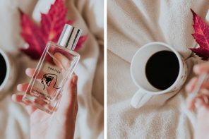 Florence melts for the eau de parfum vanille