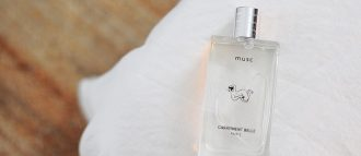 Our musc perfume has seduced Marine's fine nose, who describes it on her blog Autour de Marine