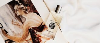 Maria from the blog Ventvenir succumbed to the charms of our label rose perfume