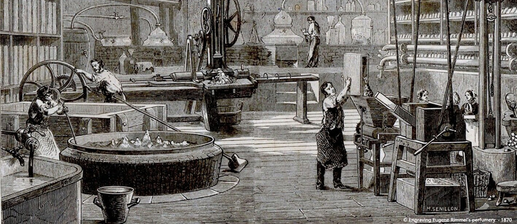 The nineteenth century marks a turning point in the history of perfume through the synthesis and evolution of manners.