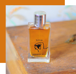 kilim is an oriental fragrance with spicy notes