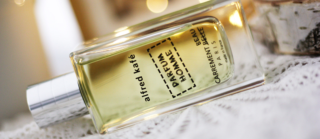 the eau de parfum alfred kafé made Charlotte and her bearded man fall for it