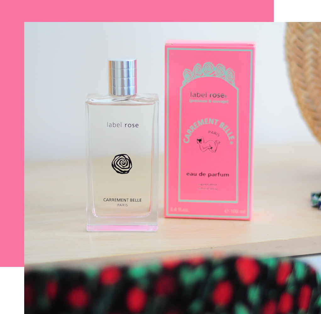 label rose unveils floral and green nuances