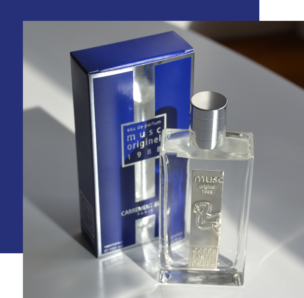 original musc is a discreet perfume that has character and sensuality
