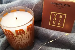 A gourmand home scent for Majorie with the candle vanille