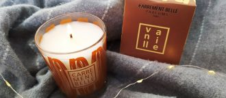 The scented candle vanille is our gourmand home scent, to perfume your interior with sweetness and pleasure