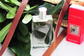enkor made Mylène fall in love with our fresh and woody fragrance