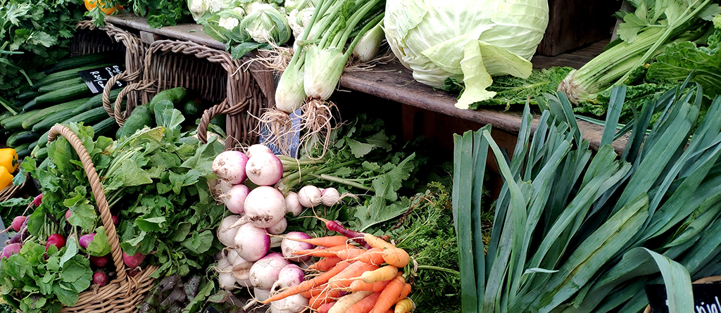 vegetables and perfume go hand in hand to create original compositions with surprising essences