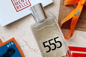 the eau de parfum 555 charmed the nose of the beautiful Sarah, with its oriental notes, of amber incense