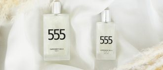 the eau de parfum 555 made Magalie's nose fall in love with its sensual and oriental notes